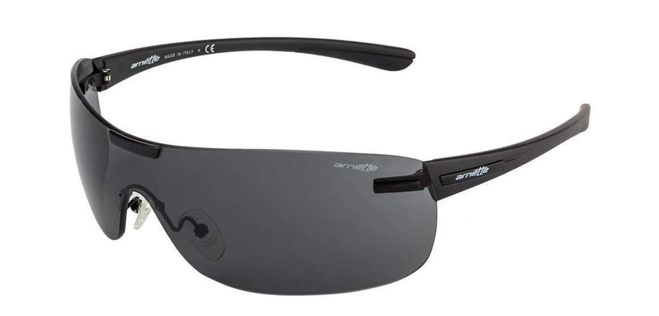 arnette sunglasses ackf  Arnette 4146 Matt Black Grey 01/87 Sunglasses