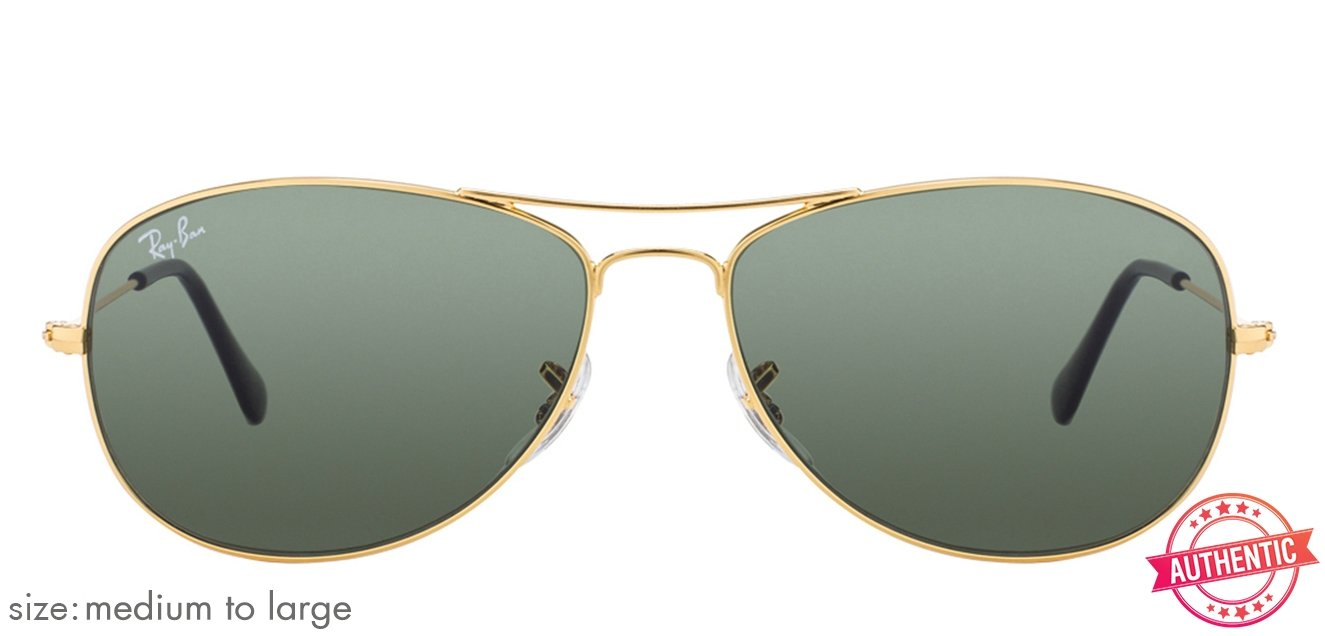 274cd2c04d Ray-Ban RB3362 Medium-Large (Size-59) Golden Grey 1 Men Sunglasses ...