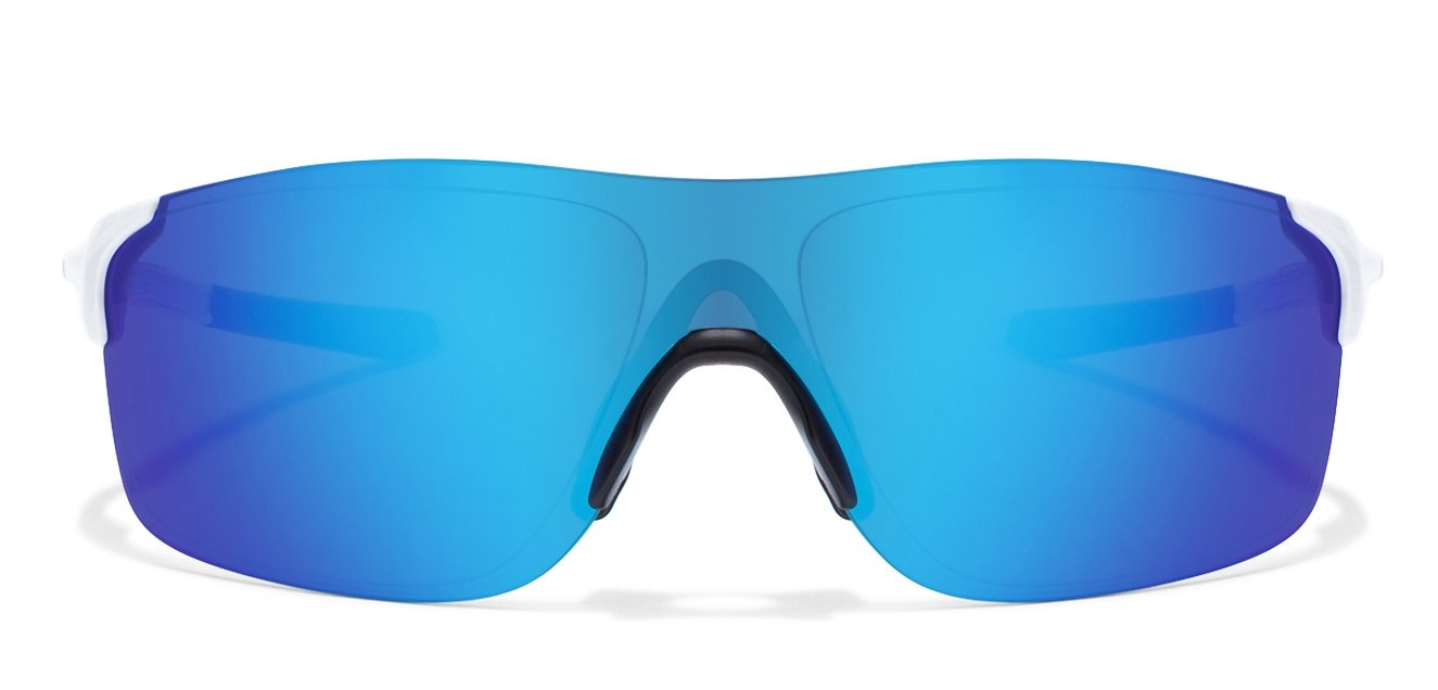 white and blue oakley sunglasses  Shop online for Oakley OO9383 Size:138 White Blue Mirror 02 ...