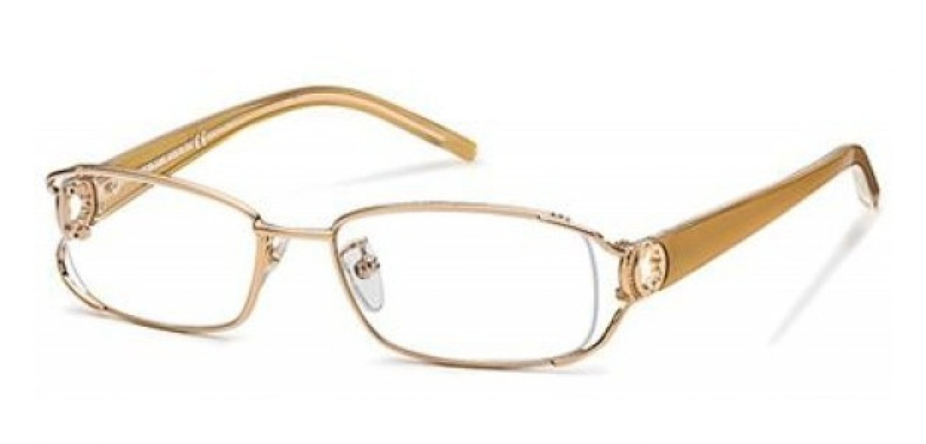 1b31a7d4c1a Buy Mont Blanc MB0205 F90 Medium (Size 52) Gold Plated Unisex Eyeglasses