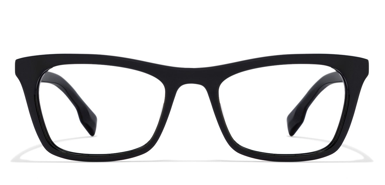 c63ec7e4ebb Black Full Rim Cat Eye Small (Size-49) John Jacobs Rich Acetate JJ E10336- Eye Eyeglasses