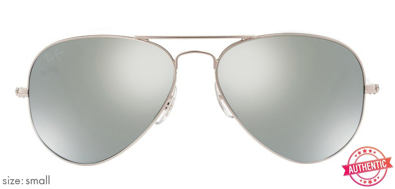 34746428a1 Ray-Ban RB3025 Small (Size-55) Silver Mirror Unisex w3275 Sunglasses