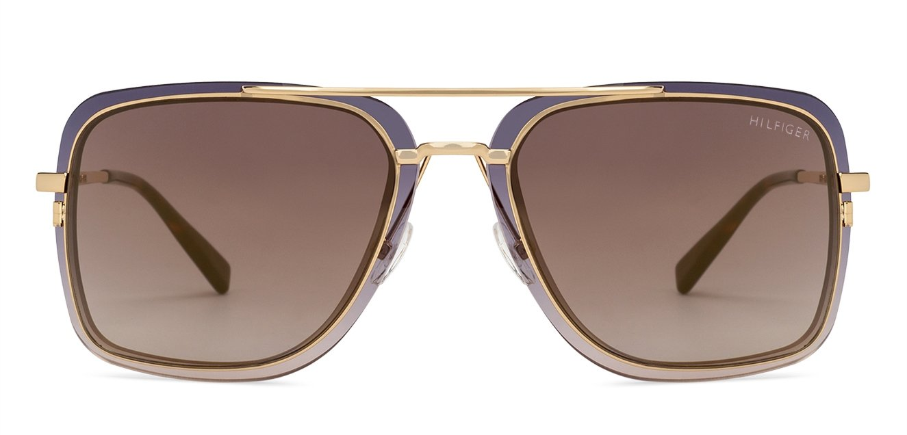 5cf50eebb45e Buy Tommy Hilfiger TH9045 Large (Size-56) Golden Tortoise Brown Mirror C3  Unisex Sunglasses
