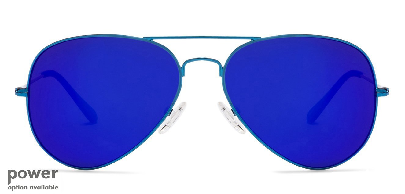 af099ff4056 Blue Full Rim Aviator Shape Medium-Large (Size-58) Vincent Chase POPSTAR VC  5158- Sunglasses