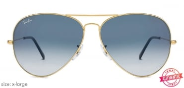 78fd91924a Shop online for Ray-Ban RB3025-58 L2823 Medium-Large (Size-58) Black ...