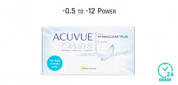 Johnson & Johnson Acuvue Oasys Bi Weekly 24 Hours (6 Lens)