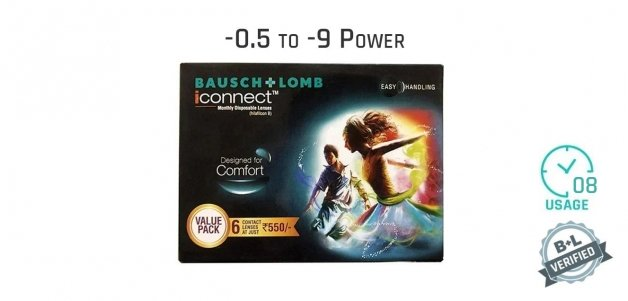 Bausch & Lomb I Connect Monthly 8 Hours (6 Lens)