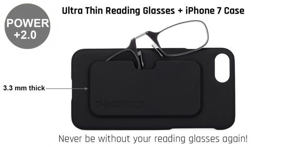 ThinOptics Reading Glass W/Iphone Cover
