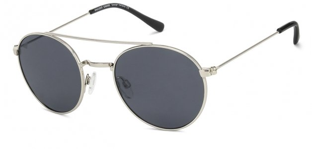 540b929c1adc Silver Black Grey Full Rim Round Small (Size-50) Vincent Chase LE CIRQUE VC  S11321 - C11 Sunglasses at LensKart.com